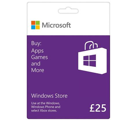 Gift Card System Software - buy microsoft windows 163 25 gift card free delivery currys