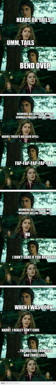 Im Horny Meme - pick up line harry potter and funny on pinterest