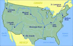 us river map map of us rivers us rivers