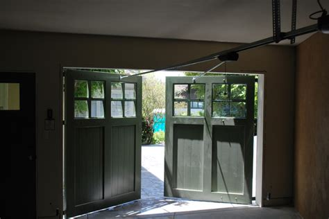 Swing Up Garage Door by Out Swing Carriage Garage Doors Traditional Garage And