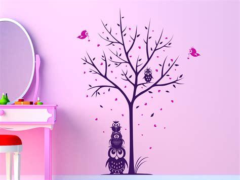 Wandtattoo Kinderzimmer Lila by Wandtattoo Lila Baum Reuniecollegenoetsele