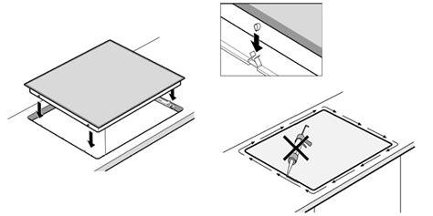 installare piano cottura installazione piano cottura induzione si5322b smeg piano