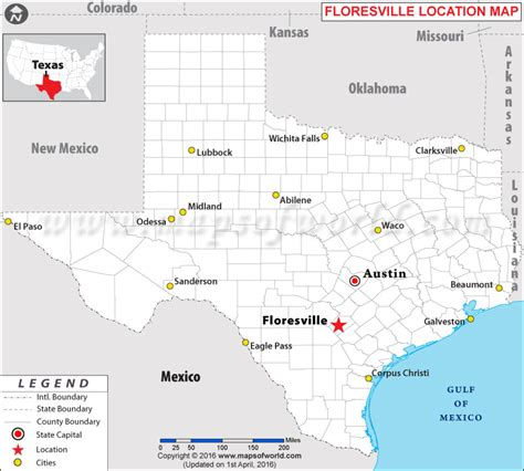 where is usa located on the world map where is floresville located in usa