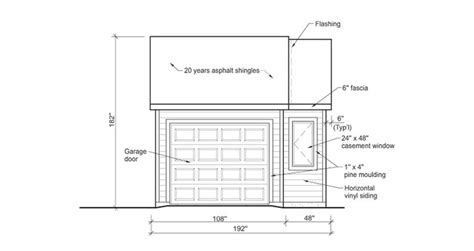 Rona House Plans 9 Free Sets Of Complete Garage Plans
