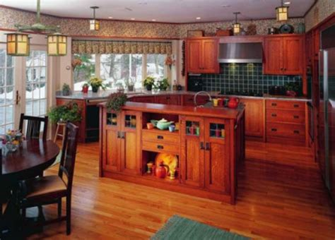 cabinets period revival design   arts crafts