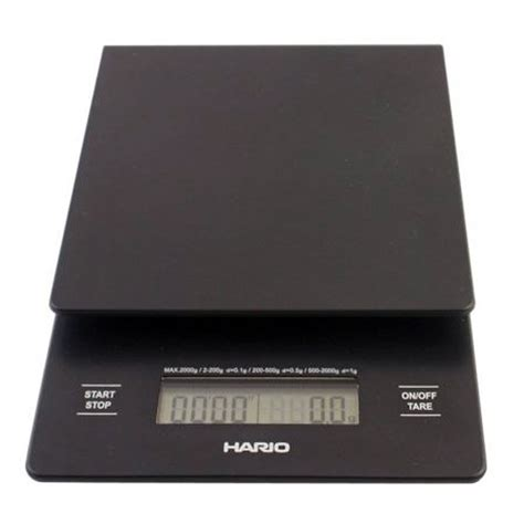 Hario Drip Scale Vst 2000b With Timer hario v60 coffee brewing timer scale weight brew pour