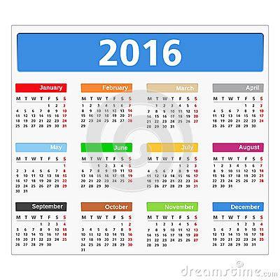 Date Calendrier Calendrier 2016 Clmp