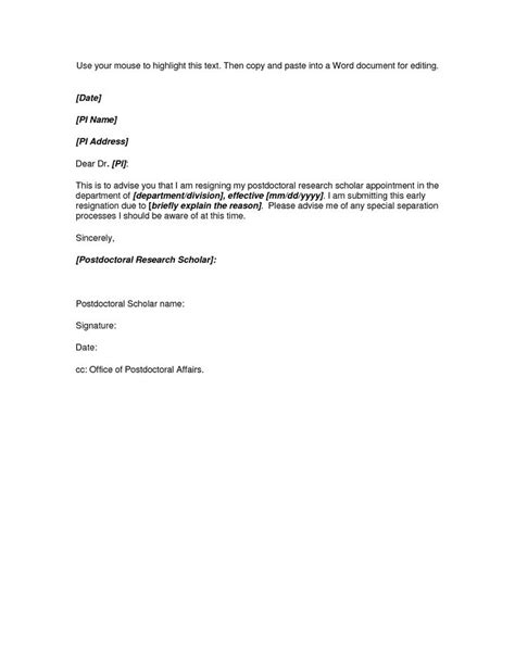 quote cancellation letter microsoft word resignation letter template inspiring