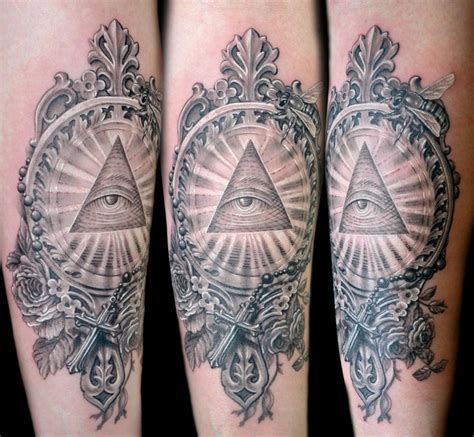 illuminati tattoo the map tattoos half sleeve illuminati