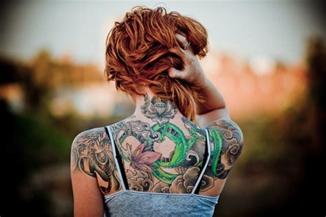 tattoo cost full back 100 tastefully provocative back tattoos for women