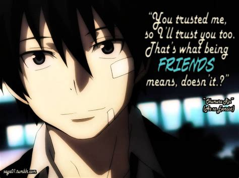 anime quotes 11 anime quotes about friendship to cheer you up page