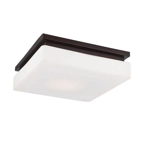 bronze flush mount light eurofase ellsworth collection 1 light bronze led