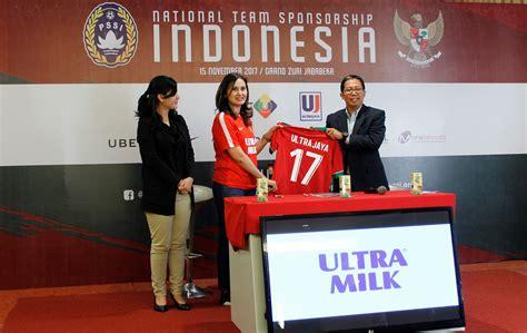 ultra milk sponsor resmi tim nasional indonesia mymilkcom