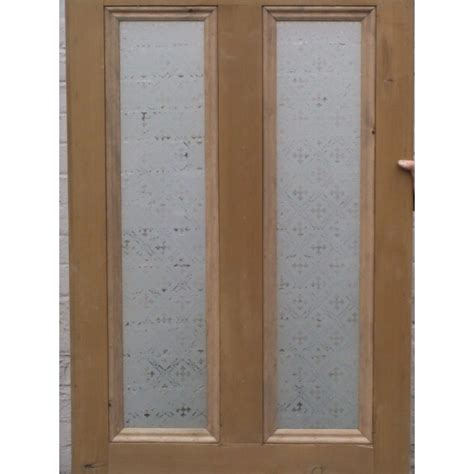 Interior Glass Panel Doors Designs 4 Panel Etched Glass Door With Druid Or Glass Design