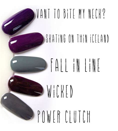 professional nail colors winter 2014 the must have fall nail colors of 2014 nail it down