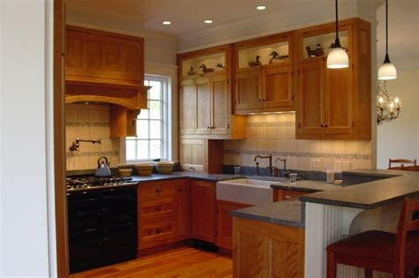 red birch kitchen traditional kitchen   cook cook cabinetry