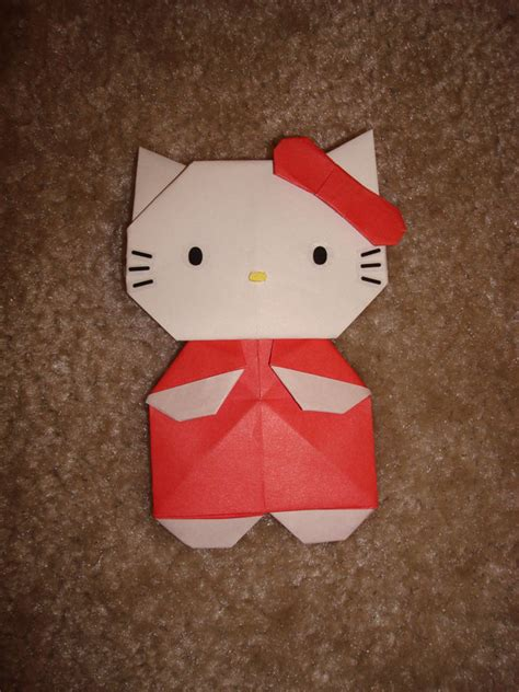 How To Make A Paper Hello - hello origami comot