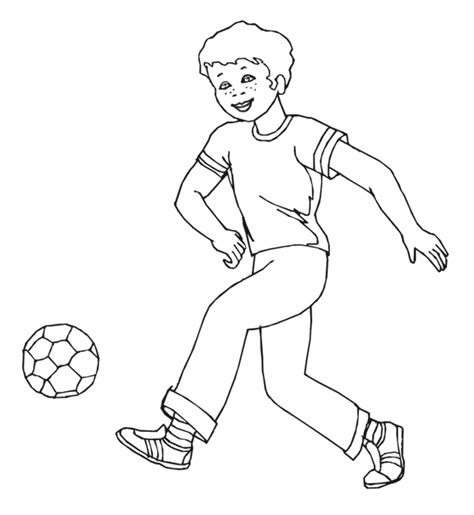 Free Kids Boys Coloring Pages Boy And Coloring Page Printable