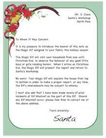 on the shelf arrival ideas letter from santa etc