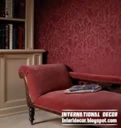 living room wallpaper interior design interior design  modern living room wallpaper design ideas
