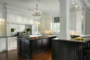 Kitchen With Black And White Cabinets Black And White Kitchen Cabinets Contemporary Kitchen New York By Creative Design