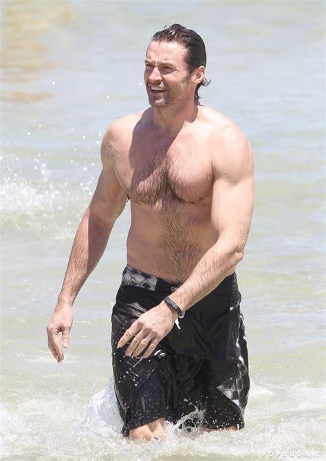 Shirtless Photos of Hugh Jackman   POPSUGAR Celebrity