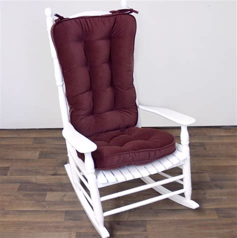 Chair Cushion Upholstery by Glider Rocking Chair Cushions Covers Home Design Ideas