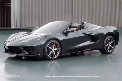 2020 Chevrolet Corvette by Chevrolet Corvette Convertible 2020 Primeras Im 225 Genes