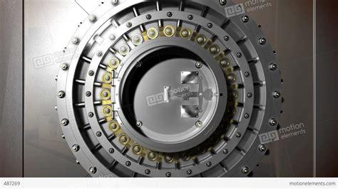 vault door open stock animation 487269