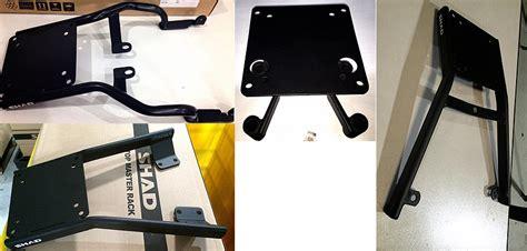 Shad Breket Yamaha X Ride bracket top box shad material wajib ikuti standar spanyol