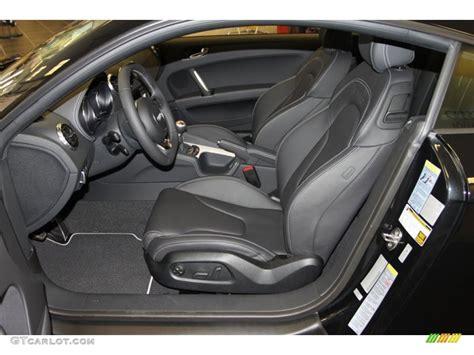 Audi Tt 2013 Interior by Black Interior 2013 Audi Tt Rs Quattro Coupe Photo