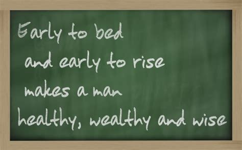going to bed early achieve your life mission