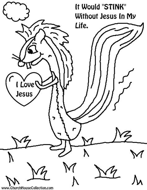 jesus valentine coloring page church house collection blog valentine s day skunk cutout