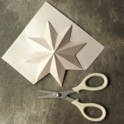 paper star ornaments silent night pinterest