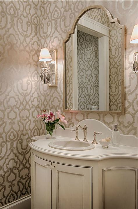 Wallpaper Bathroom Ideas by 28 Powder Room Ideas Decoholic