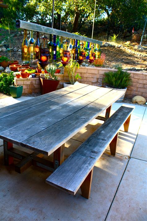 backyard picnic table 25 great ideas for creating a unique outdoor dining
