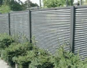 Vertical Trellis System Aluminum Fixed Louver Fence Ametco Manufacturing