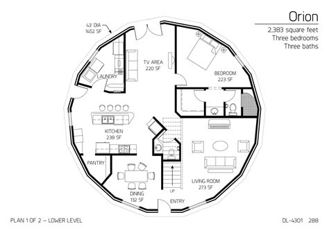 floor plan dl 3215 monolithic dome institute floor plan dl 4301 monolithic dome institute