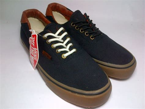Sepatu Vans Era Black Gum vans era 59 suede black brown sole gum shoes shop id