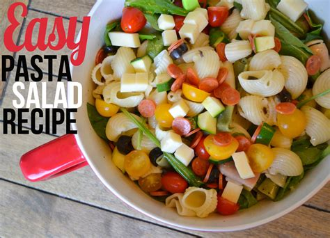 pasta salad ingredients fruit salad recipe for kids with custard in urdu that keeps cool whip filipino style easy photos