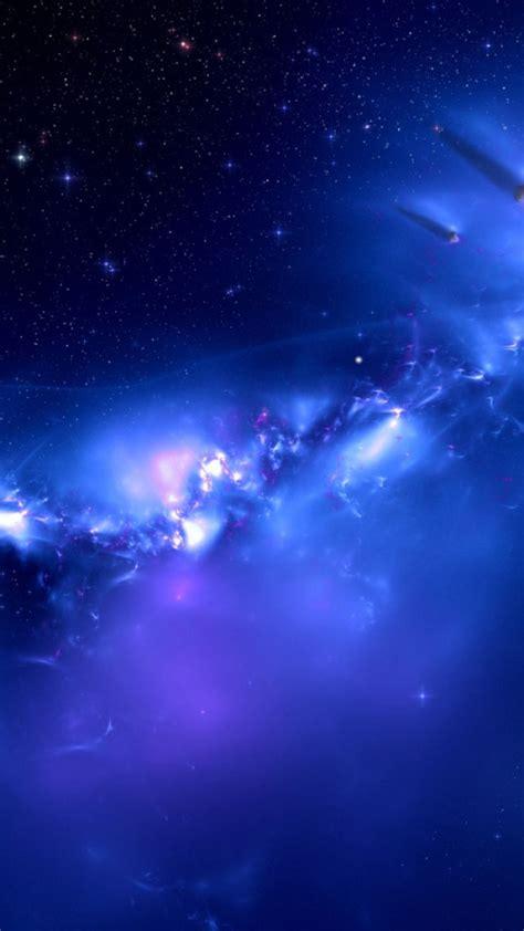 galaxy iphone  wallpaper wallpapersafari