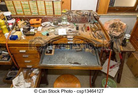 goldsmith bench stock photo of goldsmith workbench workbench of a