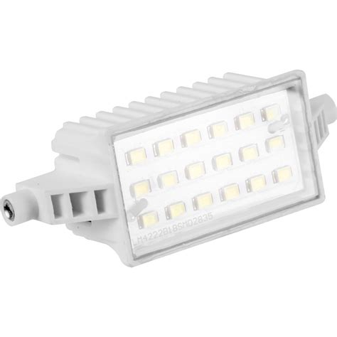 led halogenlen led halogen replacement floodlight l 6w 520lm 78mm