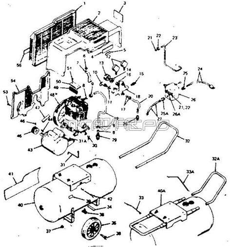 sears craftsman parts 919 156520 air compressor