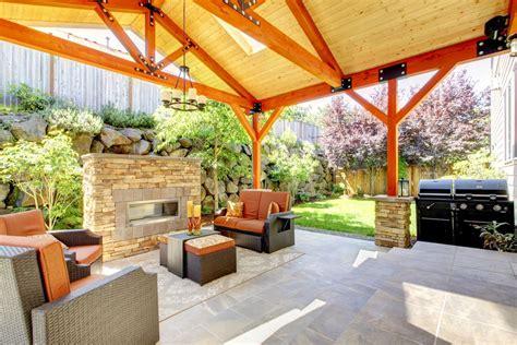 quinchos madera terraza y madera