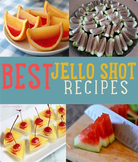best collection from diy ideas best jello shot recipes