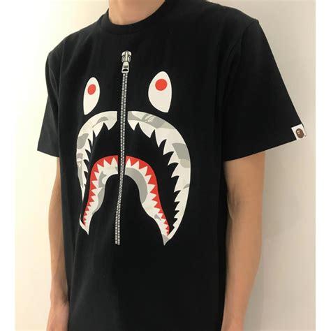 Bape Shark Custom Casing Xiaomi Samsung Dll city camo shark black white by bape s fashion clothes on carousell