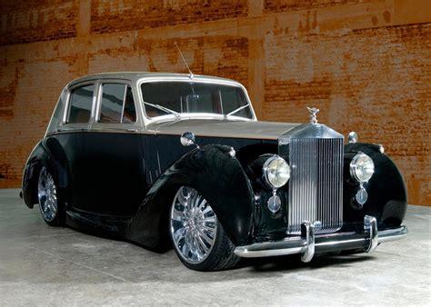 antique rolls royce 1954 rolls royce silver dawn custom 4 door saloon 65791