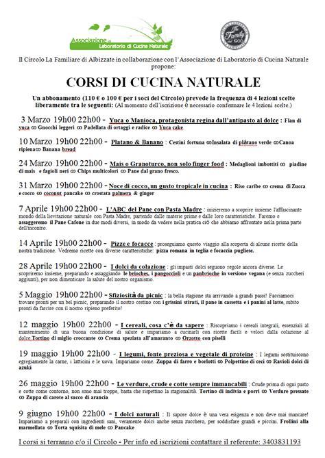 abbonamento cucina naturale associazione di laboratorio di cucina naturale di