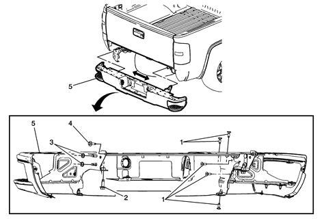 Repair Instructions Rear Bumper Impact Bar Replacement